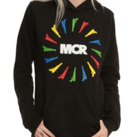 My Chemical Romance Guns Circle Girl Pullover Hoodie