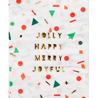 Holiday Confetti Napkins