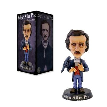 Edgar Allen Poe with Raven Bobble Head - Drastic Plastic - Historical Figures - Bobble Heads at Entertainment Earth
