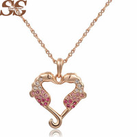 Necklace Pendant 18K Gold Plated