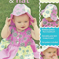 Baby Petal Dress and Hat Sew Baby Designs Pattern