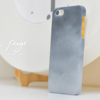apple iphone case : smoke painting