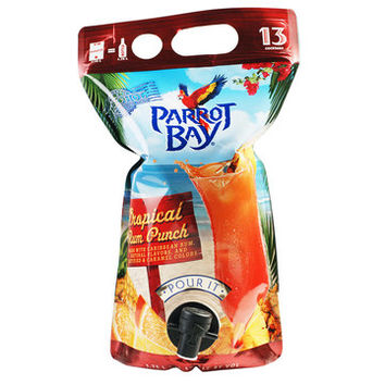 Captain Morgan Parrot Bay Tropical Rum Punch Ready To Drink 1.75L