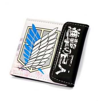 Attack On Titan Wings Of Liberty Short Style Wallet