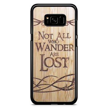 Not All Who Wander Are Lost Samsung Galaxy Note 5 Case