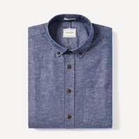 Odessa Chambray Shirt in Blue
