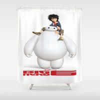 Big Hero 6 Best Picture Shower Curtain by Giftstore2u