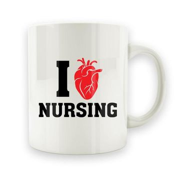 DCCK I Love Nursing - 15oz Mug