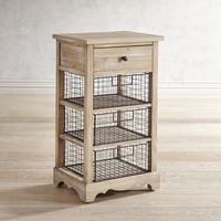 Westview Wire Basket Storage Chest