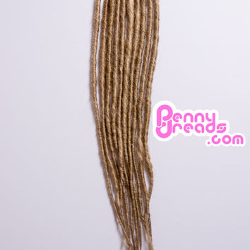 #23 Dirty Blonde U-Tip Synthetic Dreadlocks (10 pieces)