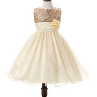 Flowers Dress For Girls For Wedding and Party Summer Baby Clothes