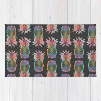 Pineapple Express Rug by Schatzi Brown