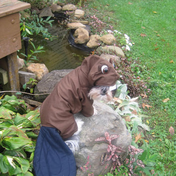 Beaver Halloween Dog Costume size Medium