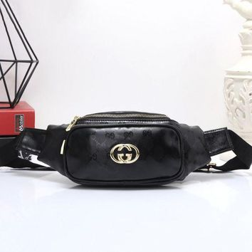 LMFON Gucci Women Shopping Leather Purse Waist Bag Single-Shoulder Bag Crossbody