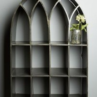 Archway Shelf by Anthropologie Carbon One Size Office