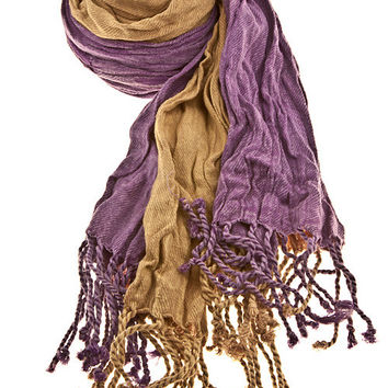 Soft Melody Fringed Scarf