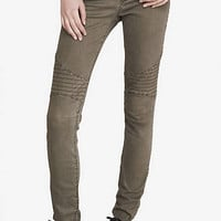 Green Mid Rise Moto Legging from EXPRESS