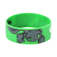 How To Train Your Dragon 2 Toothless Rubber Bracelet
