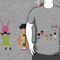 Bob's Burgers 8bit - All Bottom