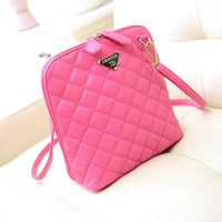 Women Leather Messenger Handbag