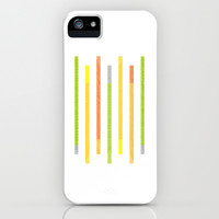 Lines iPhone & iPod Case by littlestlee