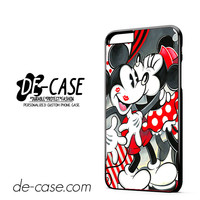 Mickey Mouse Kissing By Minnie Mouse Disney DEAL-7208 Apple Phonecase Cover For Iphone 6/ 6S Plus