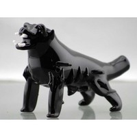 Black Dog Glass Pipe