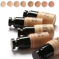 Face Makeup BB Cream Concealer Cover Primer Base Face Liquid Foundation Easy to Wear Soft Carrying Moisturizing Cosmetic
