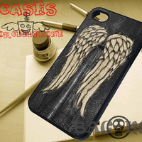 sleepcik Daryl dixon walking dead iPhone case iPhone6 caseBecause iPhone5 case iPhone5S case iPhone5C case iPhone4 case SB-31