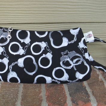 Coraline Clutch - Handcuff Wristlet - 50 Shades of Grey - Clutch - Mr Grey Clutch