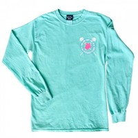 Girls Hawaii Lacrosse Long Sleeve - Teal | Lacrosse Unlimited