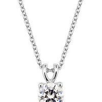 X3 Diamond Necklace, 18k White Gold Certified Diamond Pendant (1 ct. t.w.) - Diamonds - Jewelry & Watches - Macy's