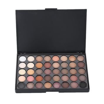 40 Color Eyeshadow Pearl Shimmer Luminous Colors