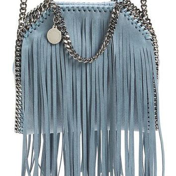 Stella McCartney 'Tiny Falabella' Fringe Faux Leather Tote | Nordstrom