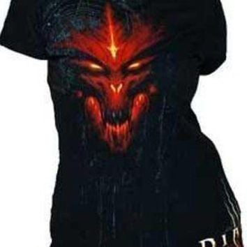 Diablo III 3 Special Edition Blizzard Officially Licensed Junior Tee Shirt Soft