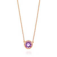 Tiffany & Co. - Tiffany Sparklers pendant in 18k rose gold with a lavender amethyst.