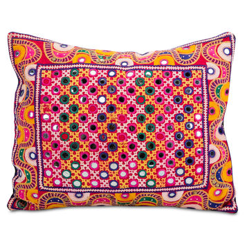 Rajasthan Embroidered Pillow