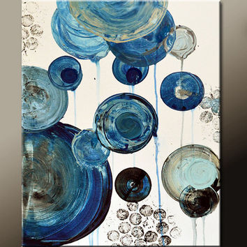 Abstract Canvas Art Painting 18x24 Original Contemporary Modern Paintings  by Destiny Womack - dWo - Every Moment