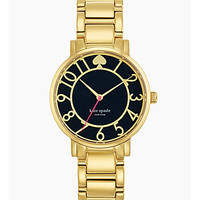 kate spade new york Gramercy Navy Dial Watch - Gold/Navy