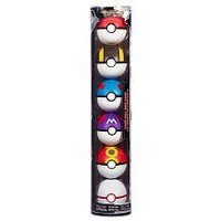 Pokemon Soft Foam 2.5 Inch Pokeball 6Pack Poke Ball Gift Pack