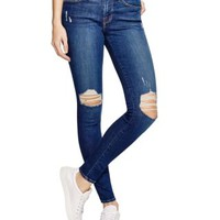 FRAME Le Skinny Jeans in Bleecker - 100% Bloomingdale's Exclusive | Bloomingdales's