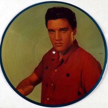 Elvis Presley  A Legendary Performer, Vol.3 Lp 33 Double Sided Picture  Record Disc