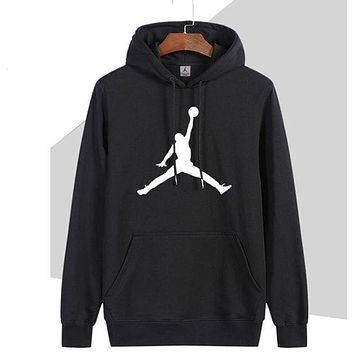 Nike Jordan Women Man Fashion Print Sport Casual Top Sweater Pullover Hoodie