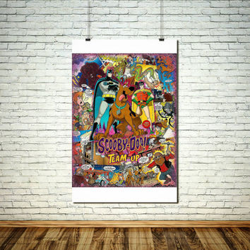 Comic Book Art / Batman Poster / Superhero Wall Art / Comic Art / Superhero Decor / Comic Book Gift / Superhero Gift / Comic Book Print Set
