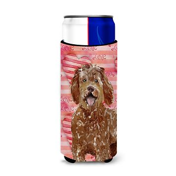 Love a Labradoodle Michelob Ultra Hugger for slim cans CK1763MUK