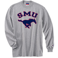 Southern Methodist University Bookstore - Champion Longsleeve Tee