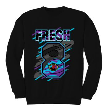 Bobby Fresh Big 8 Aqua 8s Crewneck