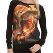 The Hunger Games: Mockingjay Logo Girls Pullover Top