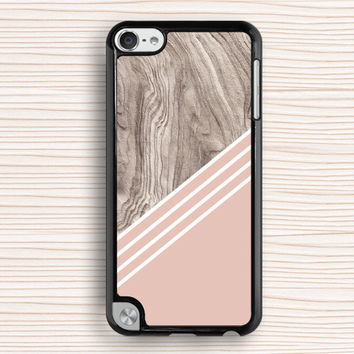 pink wood grain ipod case,idea ipod 4 case,pink wood grain ipod touch 4 case,personalized ipod touch 5 cover,gift ipod case