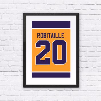 Luc Robitaille Number 20 Jersey